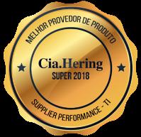 Melhor provedor de produto Cia Hering 2018